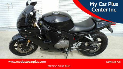 2008 Hyosung GT 250 for sale at My Car Plus Center Inc in Modesto CA