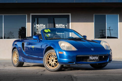 2001 Toyota MR2 Spyder for sale at AUTO NATIX in Tulare CA