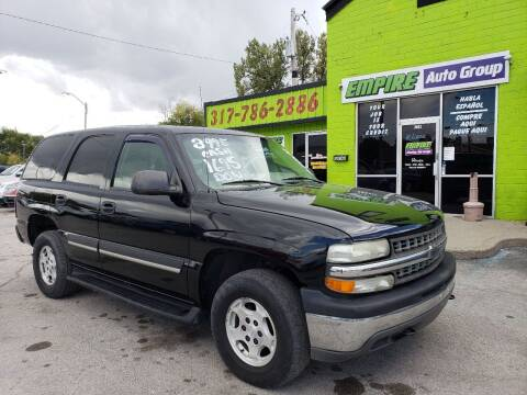 2004 Chevrolet Tahoe for sale at Empire Auto Group in Indianapolis IN