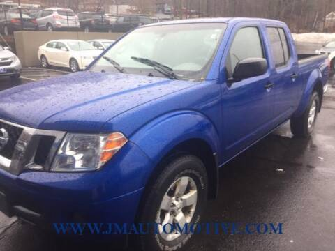 2012 Nissan Frontier for sale at J & M Automotive in Naugatuck CT