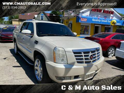 2007 Cadillac Escalade EXT for sale at C & M Auto Sales in Detroit MI