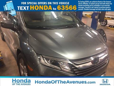 2018 Honda Odyssey for sale at Honda of The Avenues in Jacksonville FL