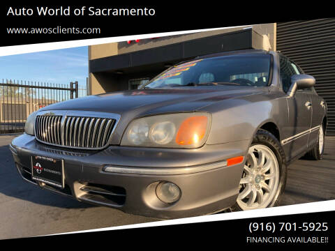 2002 Hyundai XG350 for sale at Auto World of Sacramento Stockton Blvd in Sacramento CA