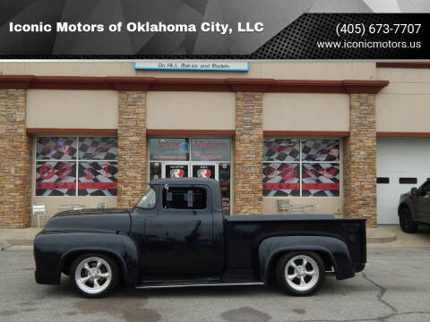 1956 Ford F-100 for sale at Iconic Motors of Oklahoma City, LLC in Oklahoma City OK