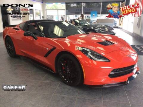 2015 Chevrolet Corvette for sale at DON'S CHEVY, BUICK-GMC & CADILLAC in Wauseon OH
