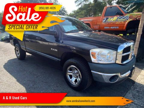 2008 Dodge Ram Pickup 1500 for sale at A & R Used Cars in Clayton NJ
