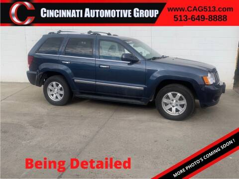 2010 Jeep Grand Cherokee for sale at Cincinnati Automotive Group in Lebanon OH