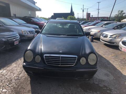 2002 Mercedes-Benz E-Class for sale at Six Brothers Auto Sales in Youngstown OH