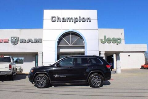 2019 Jeep Grand Cherokee for sale at Champion Chevrolet in Athens AL