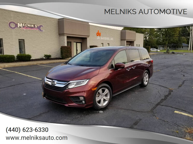 2018 Honda Odyssey for sale at Melniks Automotive in Berea OH