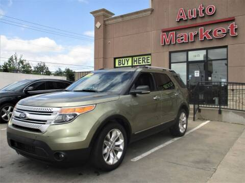 2012 Ford Explorer for sale at Auto Market in Oklahoma City OK