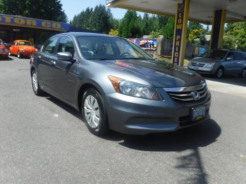 2012 Honda Accord for sale at Brooks Motor Company, Inc in Milwaukie OR