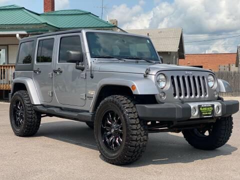 2014 Jeep Wrangler Unlimited for sale at Island Auto Off-Road & Sport in Grand Island NE