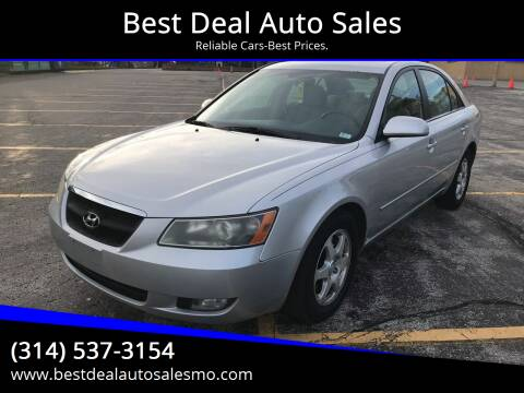 2007 Hyundai Sonata for sale at Best Deal Auto Sales in Saint Charles MO