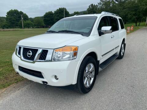 2010 Nissan Armada for sale at Tennessee Valley Wholesale Autos LLC in Huntsville AL
