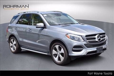 2016 Mercedes-Benz GLE for sale at BOB ROHRMAN FORT WAYNE TOYOTA in Fort Wayne IN