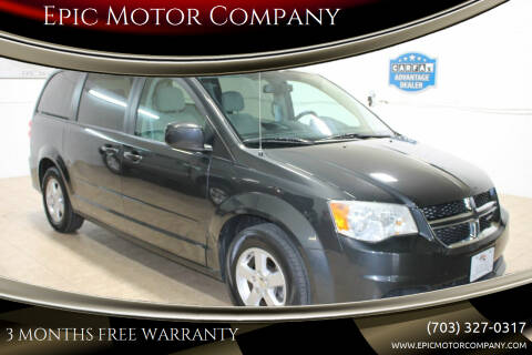 2011 Dodge Grand Caravan for sale at Epic Motor Company in Chantilly VA