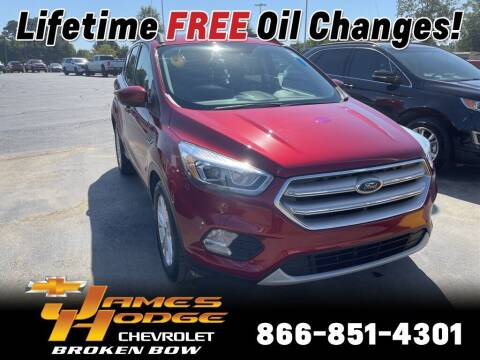 2019 Ford Escape for sale at James Hodge Chevrolet of Broken Bow in Broken Bow OK