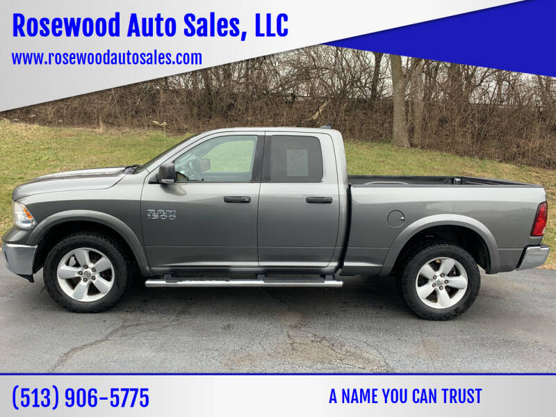 2013 RAM Ram Pickup 1500 for sale at Rosewood Auto Sales, LLC in Hamilton OH