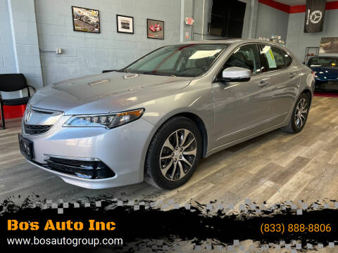 2017 Acura TLX for sale at Bos Auto Inc in Quincy MA