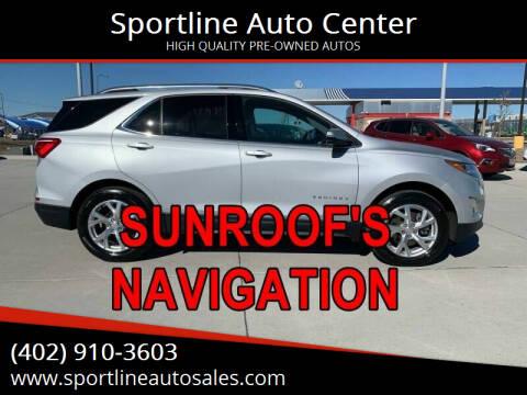 2019 Chevrolet Equinox for sale at Sportline Auto Center in Columbus NE