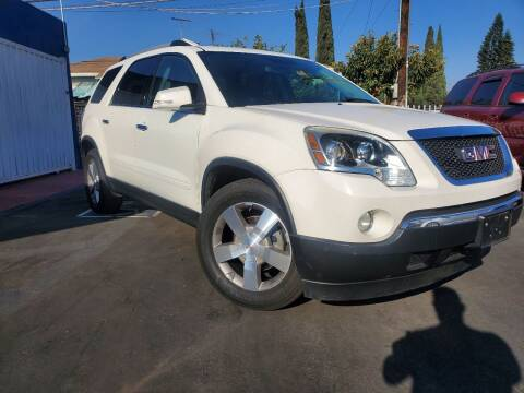 2011 GMC Acadia for sale at GENERATION 1 MOTORSPORTS #1 in Los Angeles CA