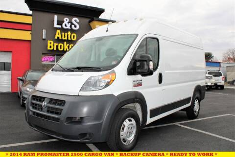 2014 RAM ProMaster Cargo for sale at L & S AUTO BROKERS in Fredericksburg VA