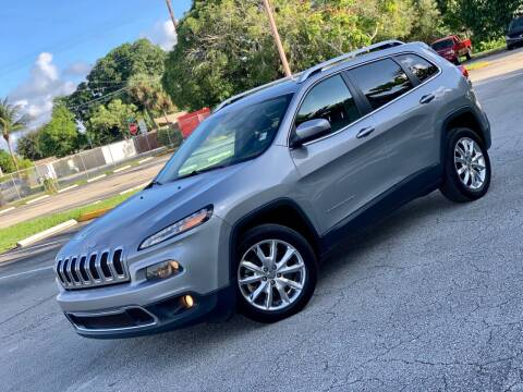 2014 Jeep Cherokee for sale at Citywide Auto Group LLC in Pompano Beach FL