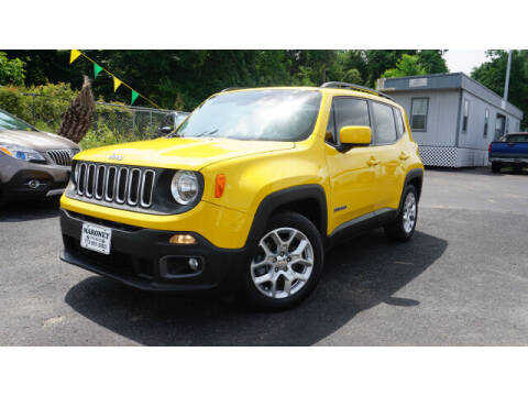 2016 Jeep Renegade for sale at Maroney Auto Sales in Humble TX