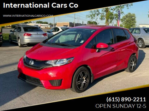 2015 Honda Fit for sale at International Cars Co in Murfreesboro TN