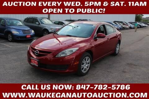 2010 Mazda MAZDA6 for sale at Waukegan Auto Auction in Waukegan IL