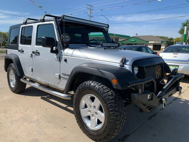 2010 Jeep Wrangler Unlimited for sale at Super Trooper Motors in Madison WI
