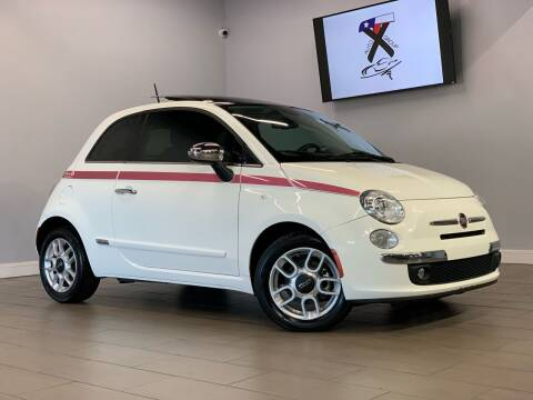 2012 FIAT 500 for sale at TX Auto Group in Houston TX