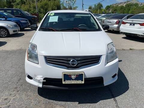 2010 Nissan Sentra for sale at Fuentes Brothers Auto Sales in Jessup MD