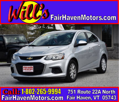 2017 Chevrolet Sonic for sale at Will's Fair Haven Motors in Fair Haven VT