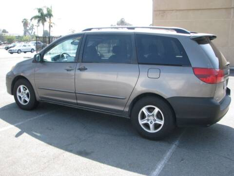2005 Toyota Sienna for sale at M&N Auto Service & Sales in El Cajon CA