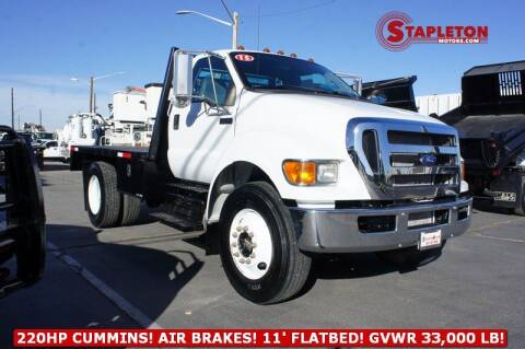 2015 Ford F-750 Super Duty for sale at STAPLETON MOTORS in Commerce City CO