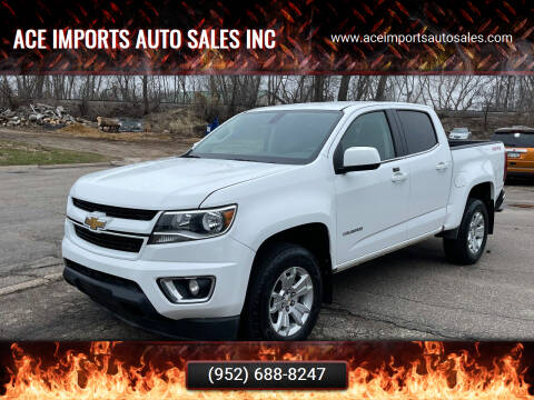 2019 Chevrolet Colorado for sale at ACE IMPORTS AUTO SALES INC in Hopkins MN