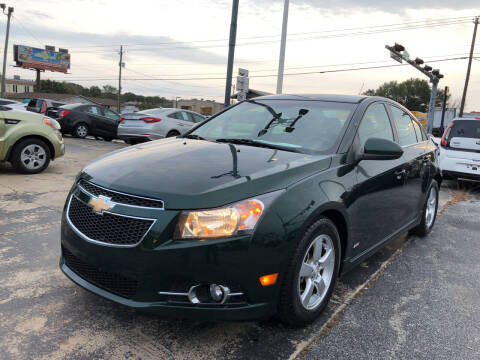 2014 Chevrolet Cruze for sale at Beach Cars in Fort Walton Beach FL
