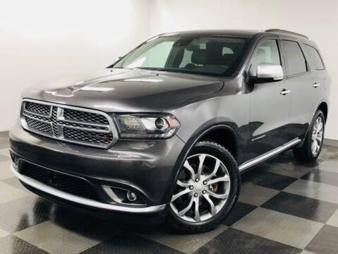 2017 Dodge Durango for sale at Cj king of car loans/JJ's Best Auto Sales in Troy MI