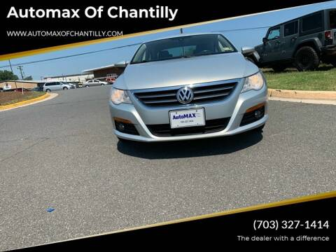 2009 Volkswagen CC for sale at Automax of Chantilly in Chantilly VA
