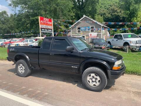 2003 Chevrolet S-10 for sale at Korz Auto Farm in Kansas City KS