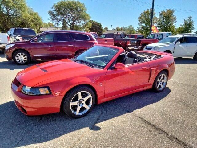 2003 Ford Mustang SVT Cobra for sale in Chelsea, MI