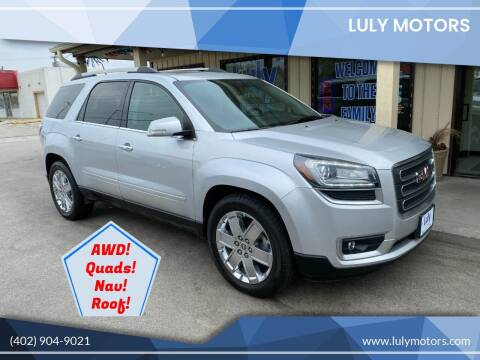 2017 GMC Acadia Limited for sale at Luly Motors in Lincoln NE