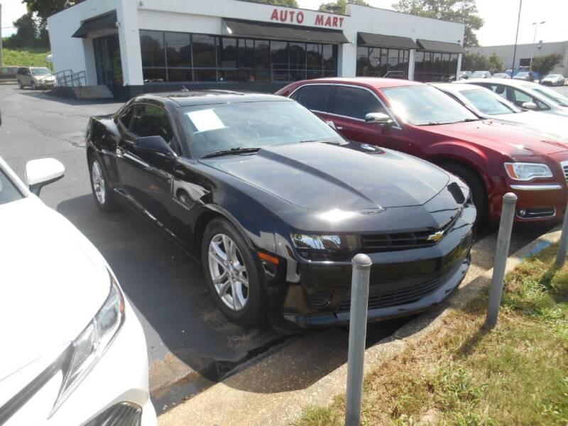 2015 Chevrolet Camaro for sale at AUTO MART in Montgomery AL