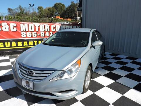 2012 Hyundai Sonata for sale at C & C Motor Co. in Knoxville TN