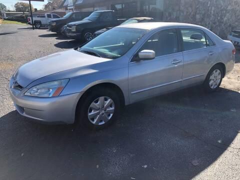 2004 Honda Accord for sale at E Motors LLC in Anderson SC