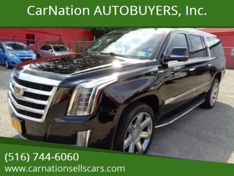 2017 Cadillac Escalade ESV for sale at CarNation AUTOBUYERS, Inc. in Rockville Centre NY