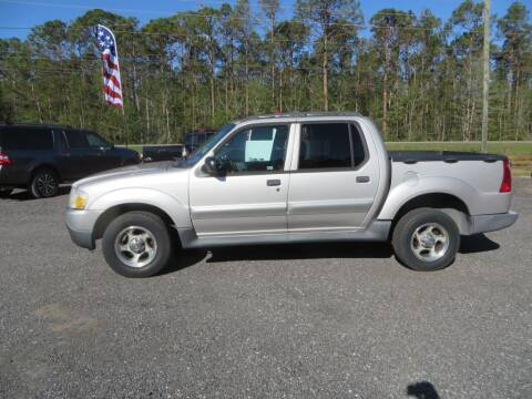 2004 Ford Explorer Sport Trac for sale at Ward's Motorsports in Pensacola FL