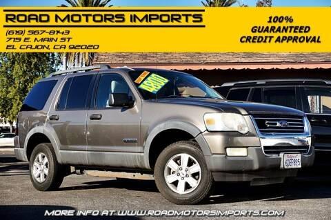 2006 Ford Explorer for sale at Road Motors Imports in El Cajon CA